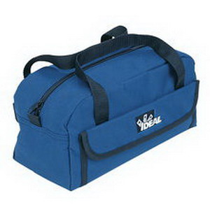 Ideal 35-535 Mechanic's Tool Bag; 10 Pocket, Nylon Polyester, Blue