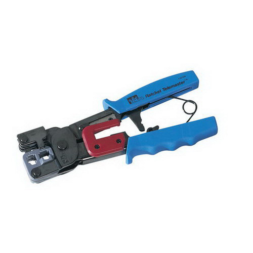 Ideal 30-696 Telemaster™ Ratchet Manual Crimp Tool; Heavy-Duty Steel Frame