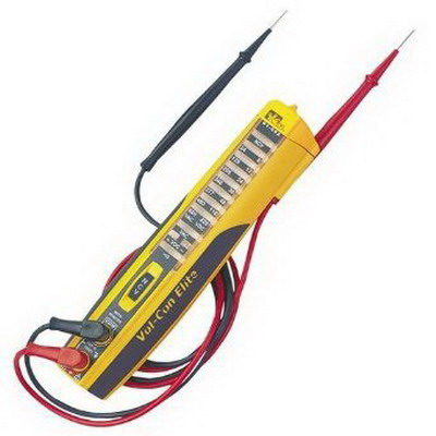 Ideal 61-092 Vol-Con Elitewith Shaker Voltage Tester 24/120/208/240/277/480/600 Volt AC,""