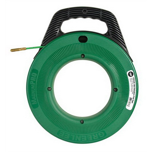Greenlee FTF540-100 MagnumPRO Non-Conductive Fish Tape 100 ft Length  Fiberglass