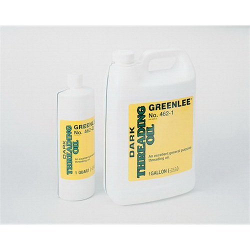 Greenlee 462-1 Thread Cutting Oil; Dark, 1 Gal