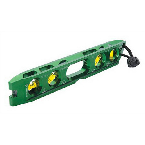 Greenlee L107 Magnetic Electrician's Torpedo Level; Aluminum Alloy