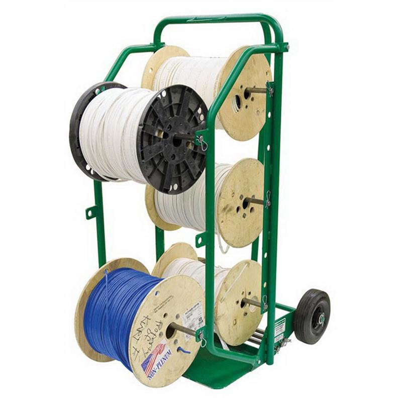 Greenlee 38733 Hand Truck Wire Cart; For 15 Spool 7 Inch Maximum Spool Diameter