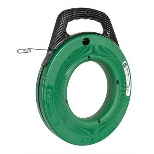 Greenlee FTS438-240 MagnumPRO Fish Tape With Case; 240 ft Length, Steel