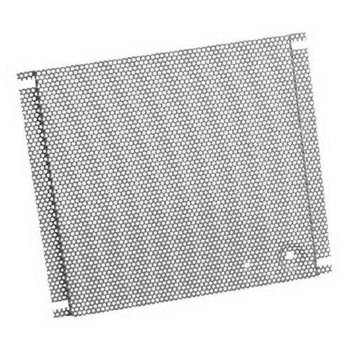 Hoffman PB1212PP Perforated Panel; 11.500 Inch Width x 10.400 Inch Height, 16 Gauge Steel