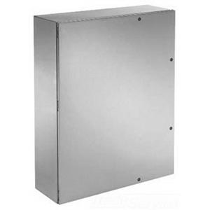 Hoffman CSD603610SSR Concept™ Enclosure; Wall Mount, 14 Gauge Stainless Steel Body and Door