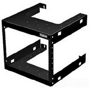 Hoffman E19FWM12U20 Fixed Data Rack; Wall Mount, 12-Rack Unit, RAL 9005 Black