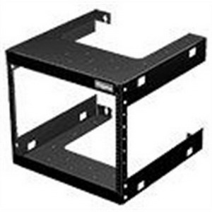 Hoffman E19FWM20U20 Fixed Data Rack; Wall Mount, 20-Rack Unit, RAL 9005 Black