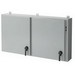 Hoffman A42X2E5410-MOD Low-Profile Disconnect Enclosure; Wall Mount, 0.098 Inch Steel, ANSI 61 Gray