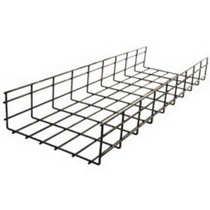 Hubbell Wiring HBT0206 NextFrame® Round Wire Basket Tray; 118 ft x 6 Inch x 2 Inch, Steel