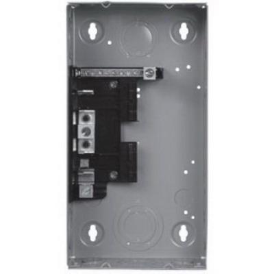 Siemens W0408ML1125 EQ Series Main Lug Load Center; 120/240/208 Volt AC, 4 Space, 8 Circuit