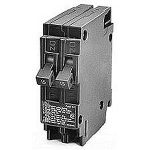 Siemens Q3030 QT Duplex Circuit Breaker; 30 - 30 Amp, 120 Volt AC, 1-Pole, Plug-In Mount