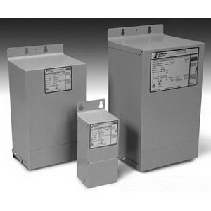 Jefferson 411-0101-000 Encapsulated Transformer; 240 x 480 Volt Primary, 120/240 Volt Secondary, 3 KVA, 1 Phase