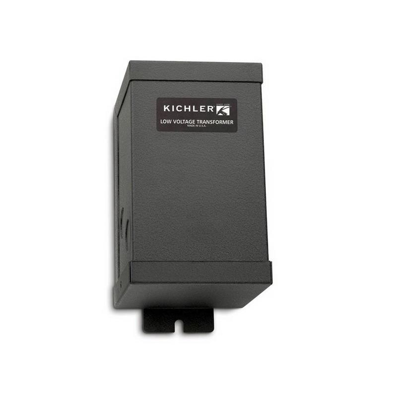 Kichler 10205BK TaskWork Collection Low Voltage Remote Magnetic Transformer; 120 Volt Input, 12 Volt Output, 1 Phase