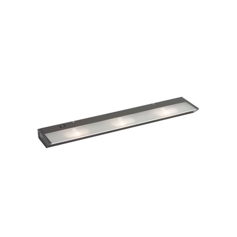 kichler 12013bz 3 light xenon under cabinet light fixture 20 watt. Black Bedroom Furniture Sets. Home Design Ideas