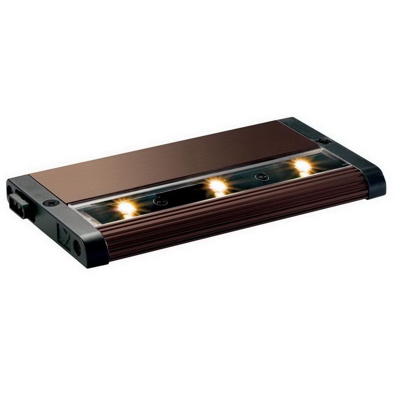 Kichler 12301BRZ Design Pro Series 3-Light Under Cabinet Modular ...