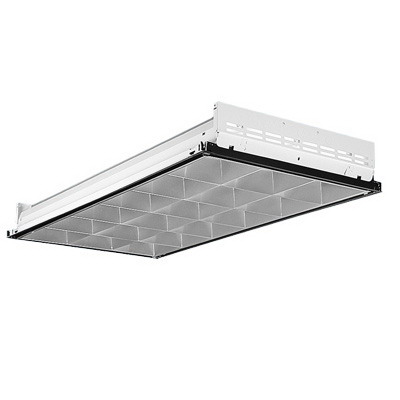 Lithonia Lighting / Acuity 2PM3N-G-B-3-32-18LD-MVOLT-1/3- Paramax® LightQuick XD 3-Light 18 Cells Parabolic Lighting; 96 Watt, Lay-In Grid Mount, Lamp Not Included