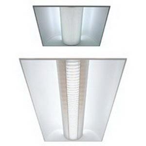 Lithonia Lighting / Acuity 2AV-G-3-32-MDR-MVOLT-GEB10IS-L Avante® 3-Light Static Air Direct/Indirect Linear Fluorescent Light Fixture; 32 Watt, Gloss White Enamel, Lamps Not Included
