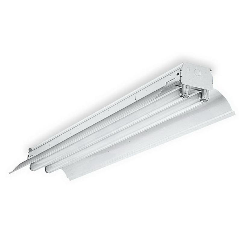 Lithonia Lighting Fluorescent Light Fixtures: Lithonia Lighting / Acuity EJDA 2 96HO 120 ES CW20 2-Light