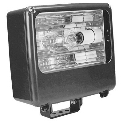 Lithonia Lighting / Acuity TFL-400S-RA2-TB-L/LP Contour® 1-Light High Pressure Sodium Medium Flood Light; 400 Watt, Dark Bronze Polyester Powder Paint