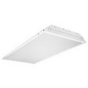 Lithonia Lighting / Acuity SP8-F-2-32-A12-120-GESB 2-Light Specification Premium T8 Fluorescent Troffer; 32 Watt, Lamps Not Included