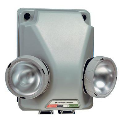 Lithonia Lighting / Acuity IND1236H1212SEL Indura™ Self-Diagnostic Emergency Light Fixture; 120/277 Volt Input/12 Volt Output, 36 Watt, Gray Front/Navy Back