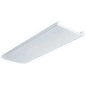 Lithonia Lighting / Acuity DLB48-M4 Narrow Body Replacement Lens; White, For 1 x 4 ft 48 Inch LB 2-Lamp Traditional Wrap