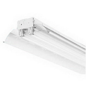 Lithonia Lighting / Acuity LR48 Specular Embossed Reflector; White, For  Industrial 48 Inch Fluorescent Lighting Fixture