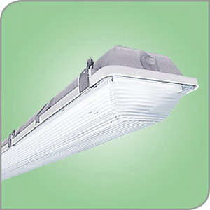 LSI Lighting EG3-4-S-LED-HO-CW-UE Enclosed and Gasketed EG3 Series LED Vapor Tight Light Fixture; 60 Watt, Polyester Powder-Coated