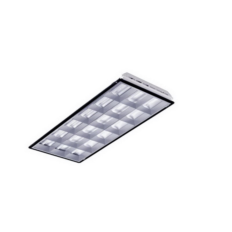 LSI Lighting PGN18-332-FD-SSO-UE 3-Light 18 Cells Static Air Parabolic Lighting; 64 Watt