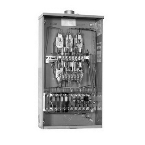 Milbank U4497-ZL-WC-61 Meter Socket; 600 Volt AC, 80 Amp, G90 Galvanized Steel, 3 Phase, Surface Mount