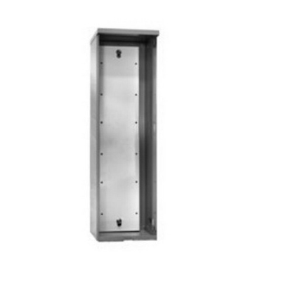 Milbank PT-48-L Continuous Hinge PT Cabinet; 8 Inch Width x 8 Inch Depth x 27.500 Inch Height