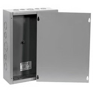 Milbank 18184-SC1-NK Junction Box; 18 Inch Width x 4 Inch Depth x 18 Inch Height, Screw Cover