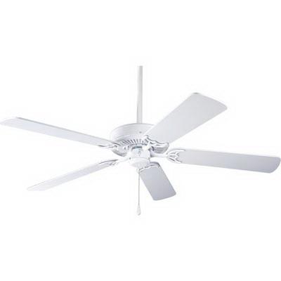 Progress Lighting P2501-30W AirPro™ Builder Ceiling Fan; MDF, 5 Blade, 52 Inch