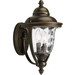 Progress Lighting P5921-108 Prestwick 2-Light Medium Incandescent Wall Lantern; 120 Watt, Oil Rubbed Bronze, Lamp Not Included