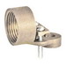Garvin H100 Threaded Hub; 10-3/0 AWG, Bronze, Steel Screws