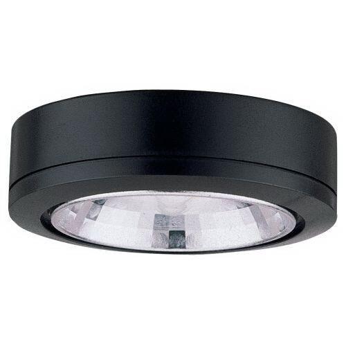 Sea Gull 9485-12 Recessed/Surface Xenon Disk Light; 18 Watt, 12 Volt, Black
