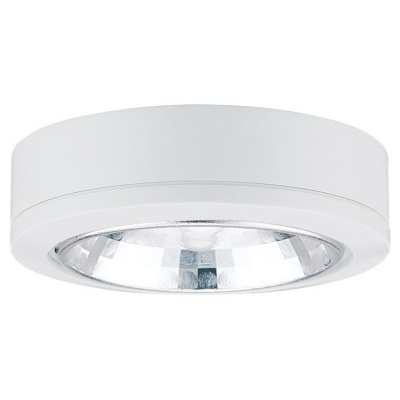Sea Gull 9485-15 Recessed/Surface Xenon Disk Light; 18 Watt, 12 Volt, White