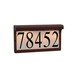 Sea Gull 9600-821 Address Light Fixture; Tawny Bronze