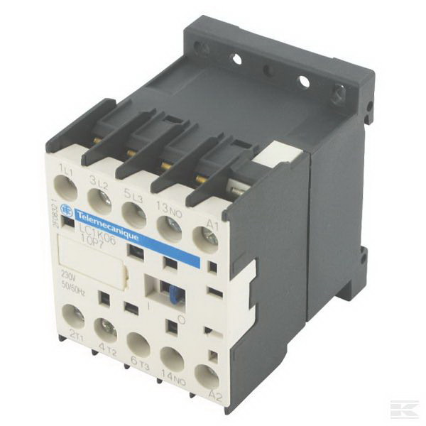 Schneider Electric / Square D LP1K0901BD3 TeSys IEC Contactor 3-Pole  9 Amp  690 Volt