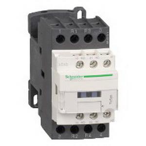 Schneider Electric / Square D LC1D1286G7 TeSys® Type D IEC Contactor; 4-Pole, 20 Amp At 440 Volt AC, 300 Volt DC Operational, 690 Volt AC