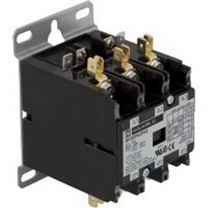 Schneider Electric / Square D 8910DPA13V09 Contactor; 3 Pole, 1 or 3 Phase, 20 Amp, 208/240 Volt