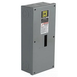 Schneider Electric / Square D QO3100BNS Enclosure; 100 Amp, 240 Volt AC, 3-Pole, Surface Mount