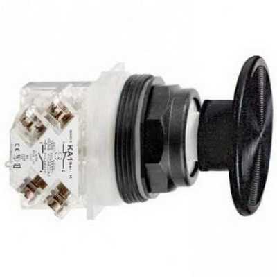 Schneider Electric / Square D 9001SKR25BH13 Harmony™ Non-Illuminated 30 mm Push Button; 600 Volt AC, Black