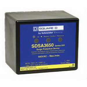 Schneider Electric / Square D  SDSA3650 Secondary Surge Arrestor; For Load Centers and CSED