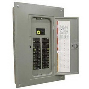 Schneider Electric / Square D  QO130L200PG Convertible Main Lug Load Center; 120/240 Volt AC, 200 Amp, 30 Space, 30 Circuit, 1 Phase, Surface/Flush Mount