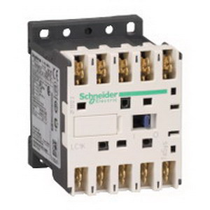 Schneider Electric / Square D LC1K09107M7 TeSys® Reversing Type K IEC Miniature Contactor; 3 Pole, 9 Amp At 440 Volt AC, 16 Amp At 690 Volt AC, 20 Amp At 440 Volt AC, 690 Volt AC Operational