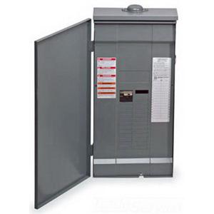 Schneider Electric / Square D QO327M100RB Convertible Main Breaker Load Center; 208/120 Volt AC, 240/120/240Y Volt AC, 100 Amp, 27 Space, 27 Circuit, 3 Phase
