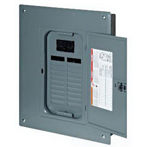 Schneider Electric / Square D  QO124M100 Main Circuit Breaker; 100 Amp, 120/240 Volt AC, 22 Kilo-Amp Interrupt Rating, 24 Spaces, Plug-On Mount