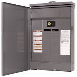Schneider Electric / Square D QO124M125RB QO® Rainproof For B hub Convertible Main Circuit Breaker Load Center; 120/240 Volt AC, 125 Amp, 24 Space, 24 Circuit, 1 Phase